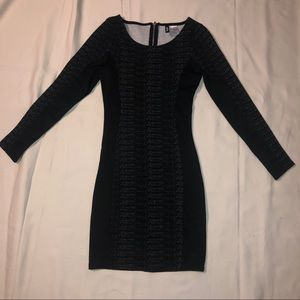 H&M Divided Bodycon Long Sleeve Dress